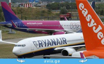 easyJet Ryanair Wizzair